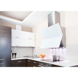 Okap kuchenny GLOBALO Crystalio 90.4 White Max