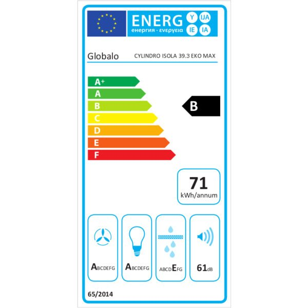 okap-kuchenny-wyspowy-cylindro-isola-39-3-green-eko-max-globalo-pl-etykieta-energetyczna