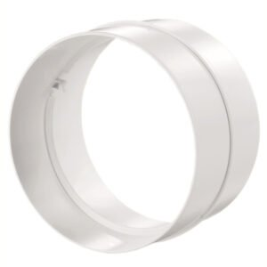 Łącznik kanałów okrągłych DOMUS fi 15 cm