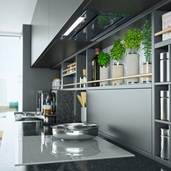 Okap kuchenny GLOBALO Loteo 60.3 Grey