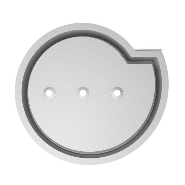 Okap kuchenny GLOBALO Serina 60.3 White