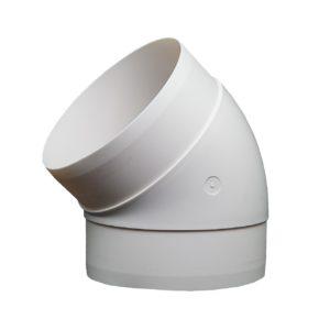 Kolanko okrągłe DOMUS 45° fi 10 cm