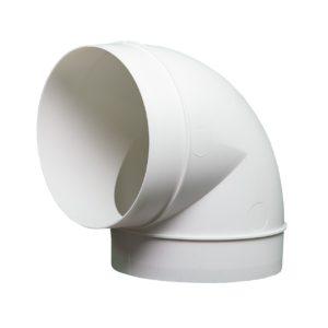 Kolanko okrągłe DOMUS 90° fi 12,5 cm