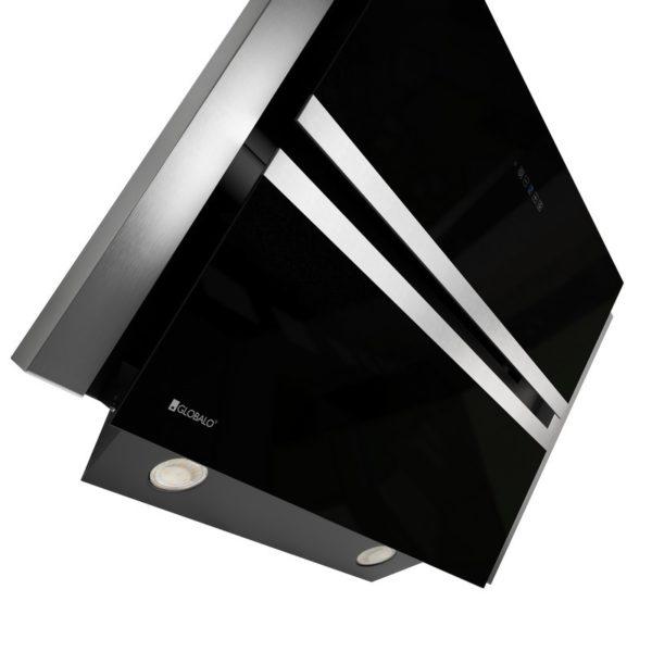 Okap kuchenny GLOBALO Boliro 75.3 Black