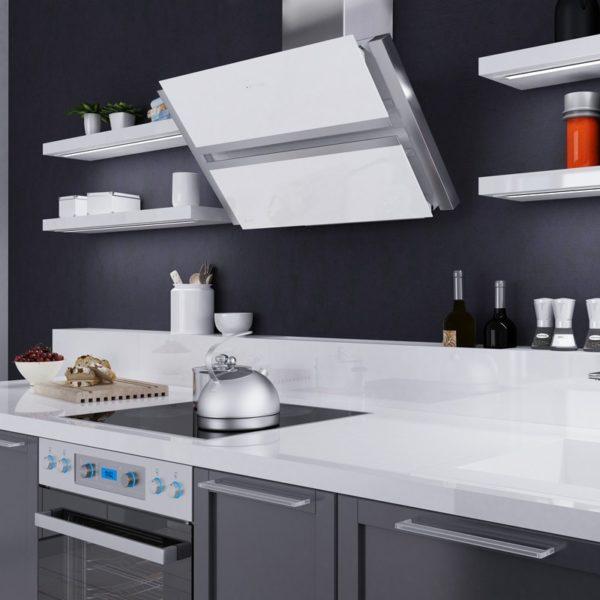 Okap kuchenny GLOBALO Boliro 90.3 White
