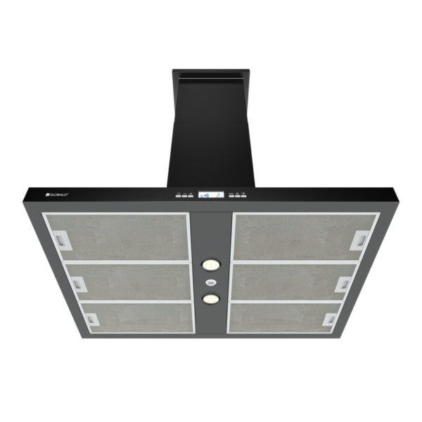 Okap kuchenny GLOBALO Nomina Isola 90.4 Sensor Black