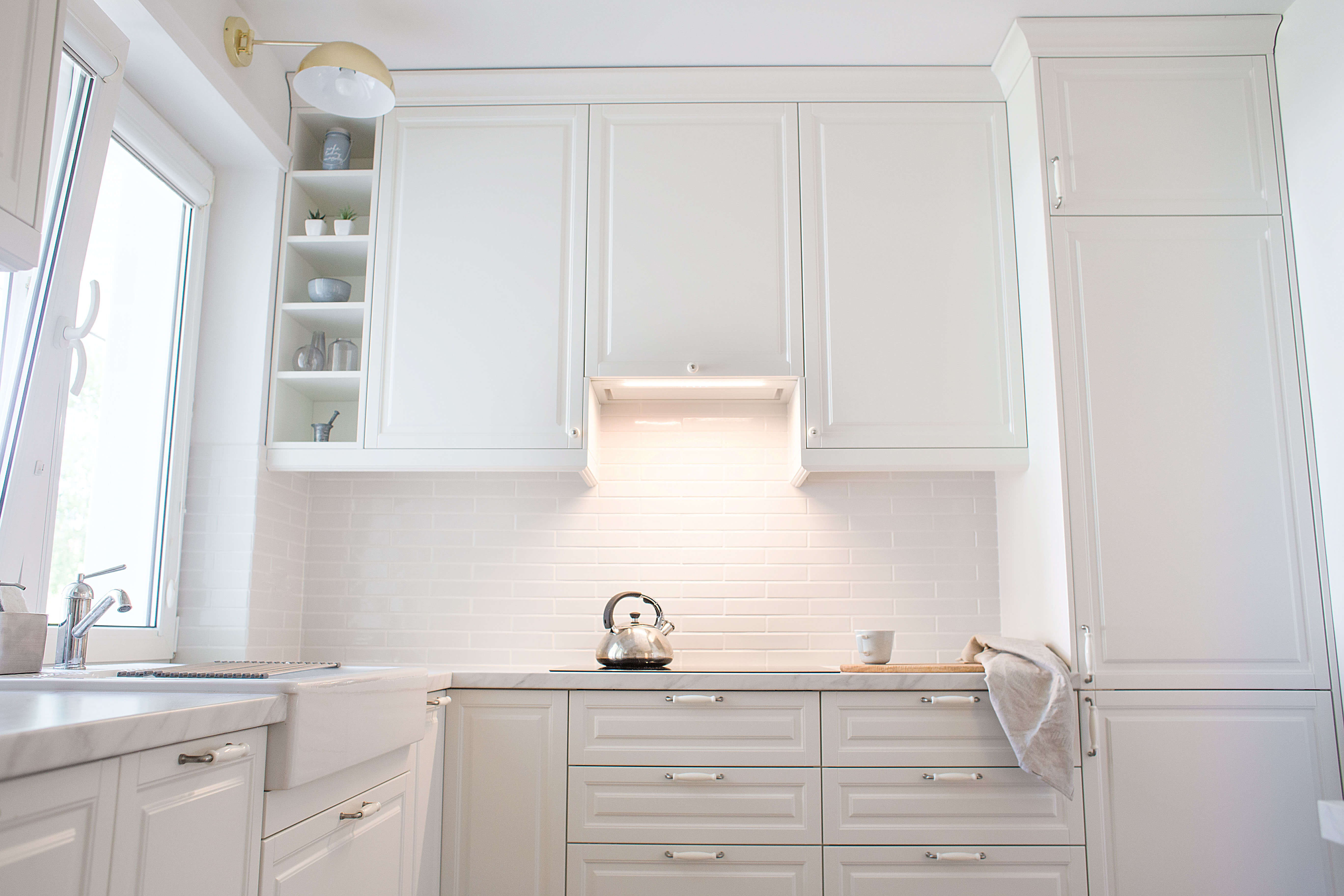 Okap kuchenny GLOBALO Loteo 60.3 White