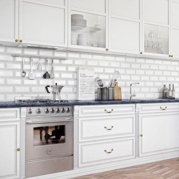 Okap kuchenny GLOBALO Lomero 60.2 White