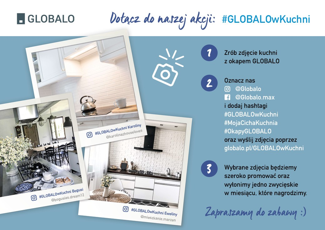 Okapy kuchenne Globalo