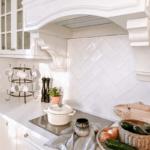 kuchnia styl hampton okap kuchenny globalo