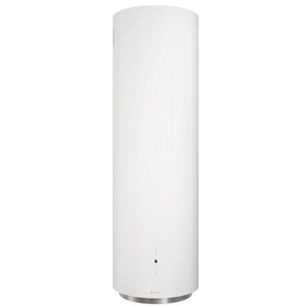 Okap wyspowy Cylindro Isola 39.4 biały