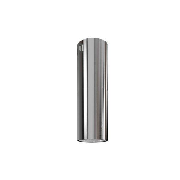 okap tuba wyspa globalo srebrny Asterio Isola 39 inox
