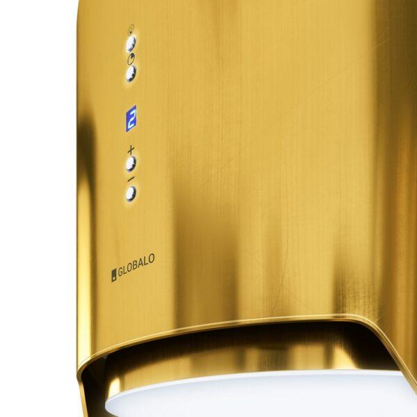 Okap Wyspowy GLOBALO Arenoflow 39 Gold