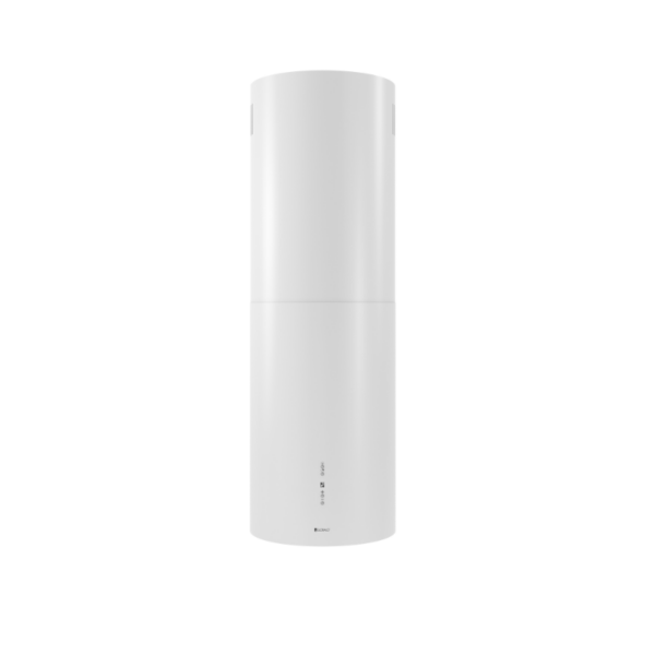 Okap Wyspowy Cylindro Isola 39.5 White GLOBALO